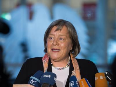 Die neue Datenschutzbeauftragte des Bundes, Andrea Voßhoff. Foto: Maurizio Gambarini