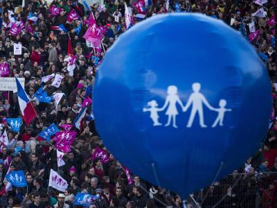 Demonstration in Paris