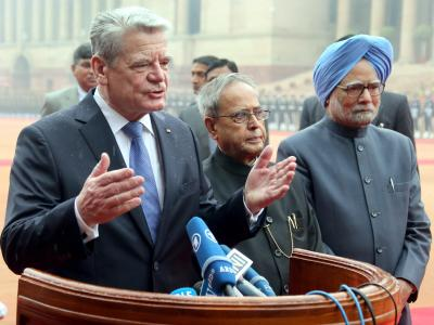 Bundespräsident Gauck in Indien