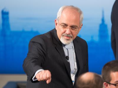 Außenminister Sarif hat sich von den iranischen Holocaust-Leugnern distanziert. Foto: Tobias Hase