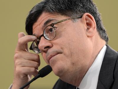 US-Finanzminister Jack Lew hat keinen leichten Job.Foto: Michael Reynolds/Archiv