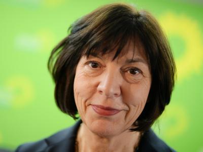 Rebecca Harms ist Spitzenkandidatin der Grünen für die Europawahl. Foto: Maurizio Gambarini