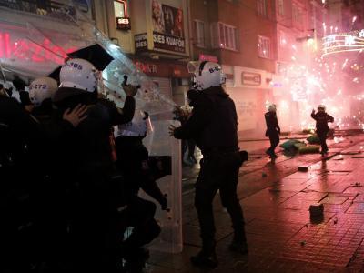 Polizeigewalt in Istanbul