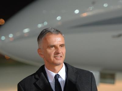 Schweizer Bundespräsident Didier Burkhalter. Foto: Alexei Danichev