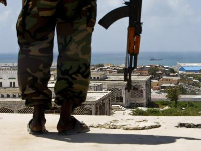 Somalischer Soldat