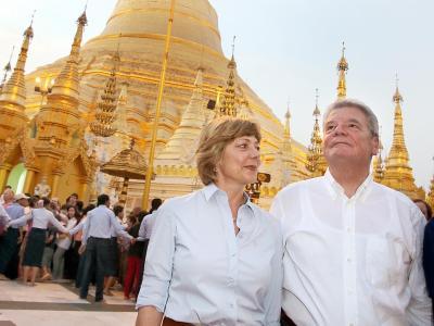 Gauck in Birma