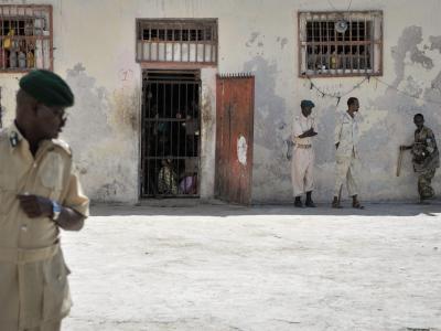 Gefängnis in Mogadischu