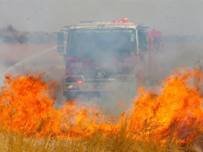 Im Bundesstaat Victoria herrscht extreme Brandgefahr. Foto:David Crosling