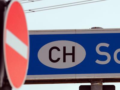 Einbahnstraße: Die Schweiz will die Zuwanderung begrenzen. Foto: Patrick Seeger