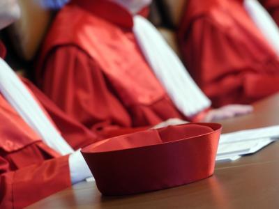Das Bundesverfassungsgericht prüft das Verfahren zur Wahl des Bundespräsidenten. Foto: Uli Deck