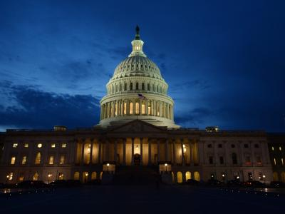 Im Senat stimmten 55 der insgesamt 100 Senatoren dafür, 43 dagegen. Foto: Michael Reynolds/Archiv