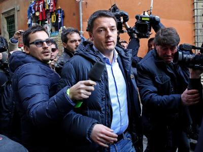 Matteo Renzi, Chef der sozialdemokratischen Partei, will Enrico Lettas Amt. Foto: Alessandro Di Meo