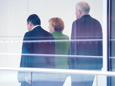 Die Edathy-Affäre wird für die große Koalition zur Belastung. Foto: Maurizio Gambarini