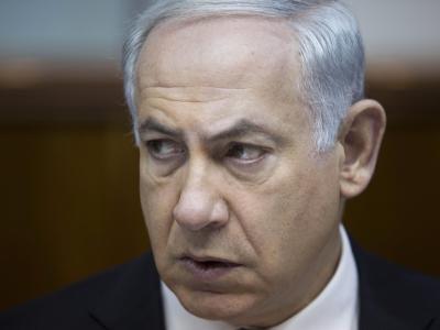 Skeptische Miene: Israels Ministerpräsident Benjamin Netanjahu hält nichts von neuen Atomgesprächen mit dem Iran. Foto: Abir Sultan