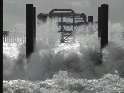 Großbritannien ist derzeit fest in der Hand von Regen und schweren Stürmen. Foto: Gerry Penny