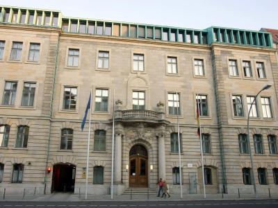 Das Bundesministerium für Ernährung, Landwirtschaft und Verbraucherschutz in Berlin. Foto: Gero Breloer
