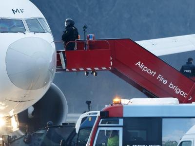 Der Entführer stellte sich den Behörden und wurde festgenommen. Foto: Salvatore Di Nolfi