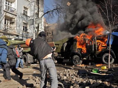 Die Lage in der Ukraine ist außer Kontrolle. Foto: Danylo Pryhodko