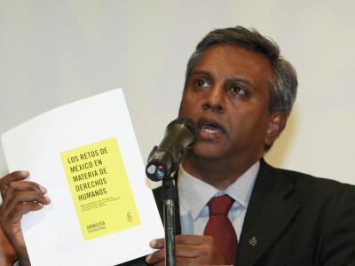 «Die Menschenrechte haben für die Regierung anscheinend keine Priorität»: Amnesty-Chef Salil Shetty. Foto: Alex Cruz
