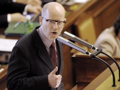 Das Parlament hat ihm das Vertrauen ausgesprochen: Premier Bohuslav Sobotka. Foto: Filip Singer/Archiv