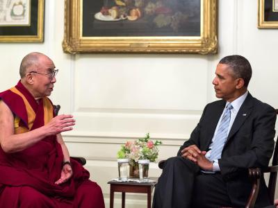 Barack Obama empfängt den Dalai Lama. Foto: Pete Souza/Official White House Photo