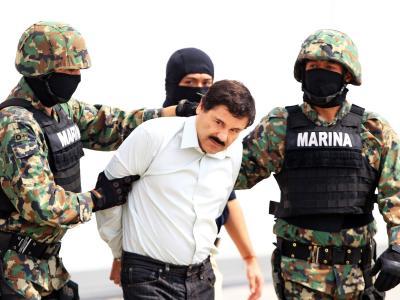 Jahrelang wird nach ihm gefahndet, dann geht Joaquín Guzmán den Ermittlern in Mexiko ins Netz. Foto: Mario Guzman