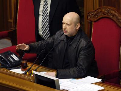 Parlamentschef und jetzt auch Übergangspräsident: Alexander Turtschinow. Foto:Yury Maximo