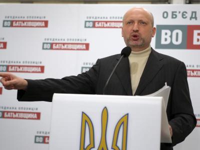 Gilt als Vertrauter von Oppositionsführerin Julia Timoschenko:Alexander Turtschinow. Foto. Tatyana Zenkovich Foto: Tatyana Zenkovich