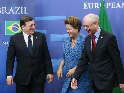Die EU ist der Handelspartner Nummer eins Brasiliens. Foto: Olivier Hoslet