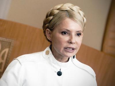 Die frühere ukrainische Ministerpräsident Julia Timoschenko lässt sich in Deutschland behandeln. Foto: Sergey Dolzhenko