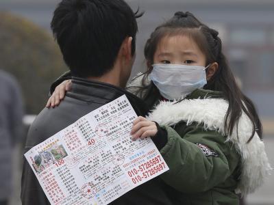 Peking im Smog