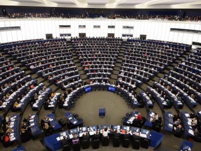Deutsche Kleinparteien dürfen sich Hoffnung auf einen Sitz im Europaparlament machen. Foto: Patrick Seeger/Archiv