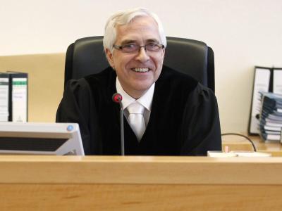 Frank Rosenow leitete den Prozess gegen Christian Wulff. Foto: Tobias Schwarz