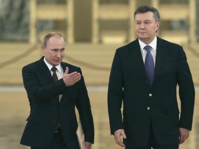 Putin und Janukowitsch