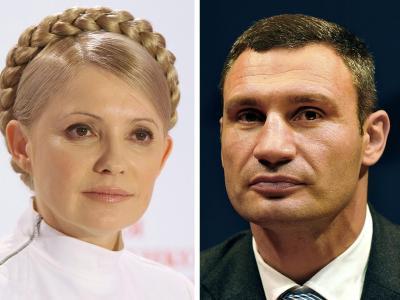 Klitschko und Timoschenke