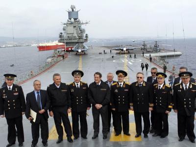 Der russische Flugzeugträger