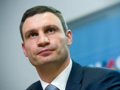Vitali Klitschko:Es gibt keinen Konflikt zwischen den Bürgern auf der Krim. Foto: Maurizio Gambarini