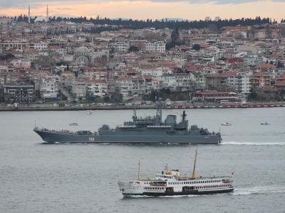 Russische Kriegsschiffe auf dem Weg ins Schwarze Meer