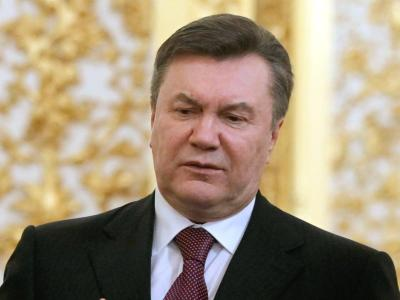 Der abgesetzte Staatschef Viktor Janukowitsch hält sich weiter für den rechtmäßigen ukrainischen Präsidenten. Foto: Yuri Kochetkov