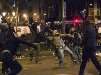 Gewalt in Madrid