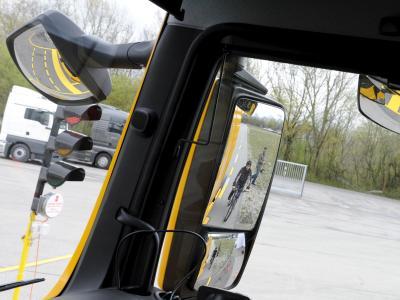 Lkw-Spiegel ohne «toten Winkel»