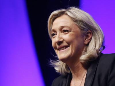 Marine Le Pen ist Chefin des Front National in Frankreich. Foto: Guillaume Horcajuelo