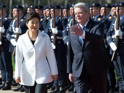 Park und Gauck