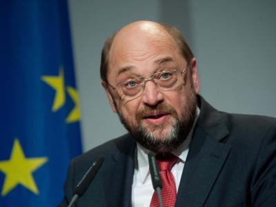 Martin Schulz kandidiert für die Europawahl am 25. Mai. Foto: Maurizio Gambarini/Archiv