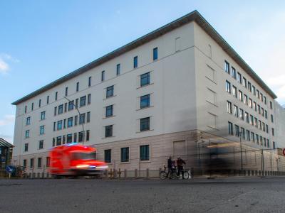 Ein Teil der neuen BND-Zentrale in Berlin. Foto: Hannibal