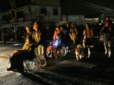 Bei dem stärksten Beben seit 1877 hatten sich am Dienstag knapp eine Million Menschen vor der Tsunami-Gefahr in Sicherheit gebracht. Foto: Felipe Trueba