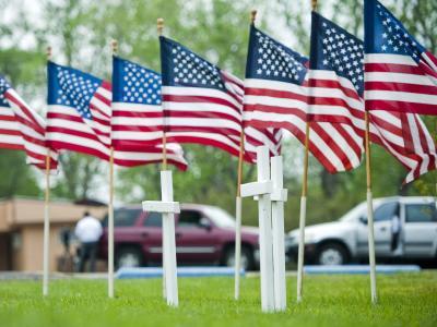 Noch liegen die Motive des Todesschützen von Fort Hood im Dunkeln. Foto: Ashley Landis
