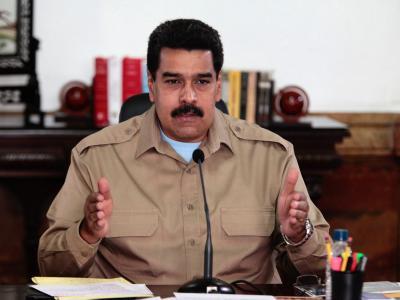 In den Konflikt zwischen Regierung und Opposition in Venezuela kommt Bewegung. Präsident Maduro stimmt Gesprächen mit den Regierungsgegnern zu. Foto: Miraflores Press