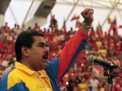 Pr�sident Nicol�s Maduro