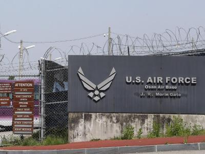 US-Milit�rbasis in Osan